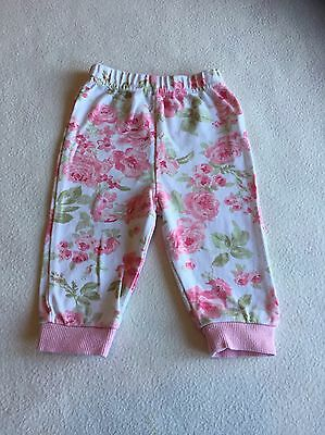 Baby Girls Clothes 3-6 Months - Cute Flowers Trousers -