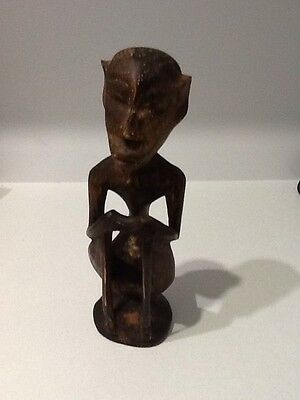 Tribal Island Statue Hand Carved