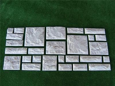 Wall Cladding Brick Mould**Makes 13 Bricks At A Time **  Plaster or Concrete
