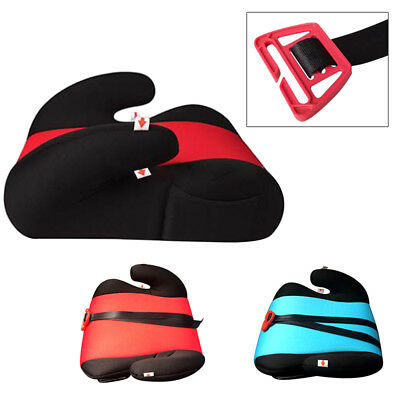 2-Color Car Booster Seat Safe Sturdy Child Kid Children Fit 4-10 Years Safety AU