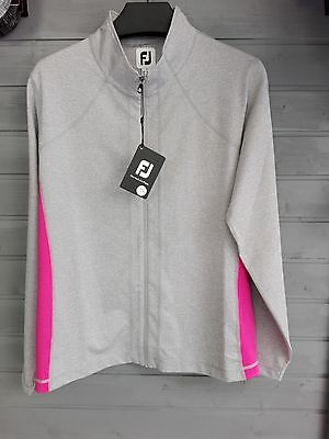SAVE 30%  2016 Footjoy Ladies FullZip Knit CHillout Pullover