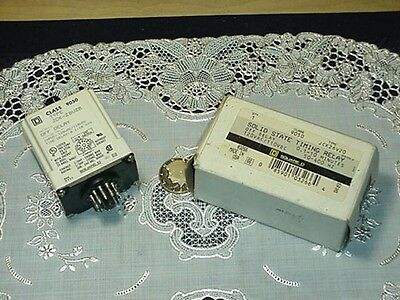 Square D 9050JCK26V20 Solid State Timing Relay 0.1-10 Minutes. 120VAC/110VDC NEW