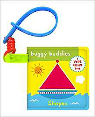 Wipe-Clean Buggy Buddies: Shapes, New,  Book