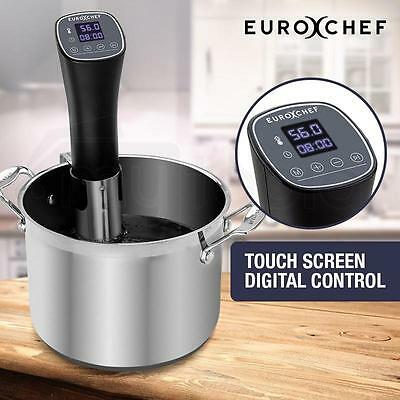 Sous Vide Immersion Heater Circulator Slow Food Cooker Temperature Controlled