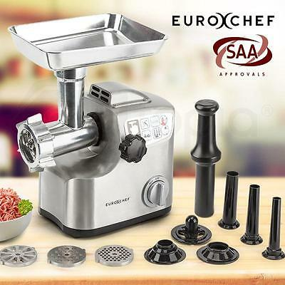 1800W Electric Metal Commercial Meat Grinder Mincer Grinder Sausage Filler Kebbe