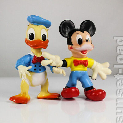 Ledra Micky Maus Donald Duck Orig.Walt Disney Quitsch Figuren 28cm Mickey Mouse