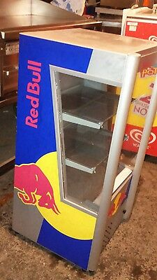 RED BULL OPEN DISPLAY SELF SERVICE DRINKS DISPLAY FRIDGE CHILLER Multi Deck