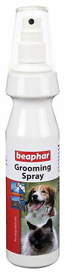 Beaphar De-Tangle Anti-Tangle Grooming Spray for Dogs Puppies Cats Kittens 150ml