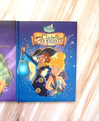 Disney  ♥La Fee Clochette Et La Fee Pirate ♥ Livre Com9