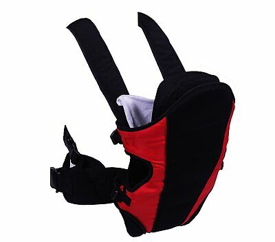 NEW Red Kite Carry Me 3 Way Infant Baby Carrier Pouch Backpack Sling - Red/Black