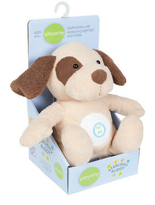 Puppy Starlight Buddy - soothe baby with reassuring night light & lullaby...
