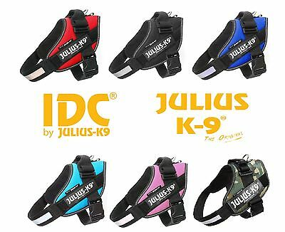 Julius-K9 IDC® Power Dog Harness Adjustable Comfortable Reflective