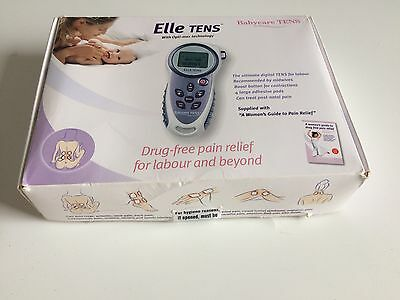 ELLE Tens Machine- Recommended Pain Relief For Pregnancy/Labour