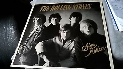 THE ROLLING STONES Slow Rollers DECCA TAB30  1X 1981 Vinyl LP