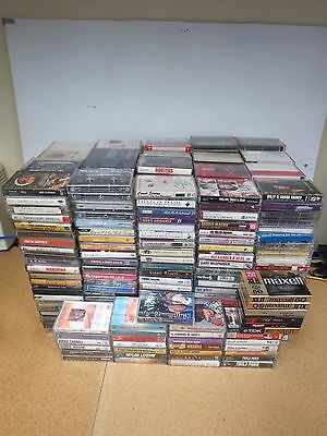 Lot of Pre-recorded Cassette Tapes  (450++)      1907K