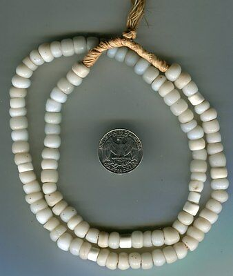 African Trade beads European glass beads Old white padre beads