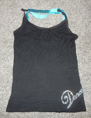 Adult Size Xs--Tia's Brand Embellished Dance Top--Excellent