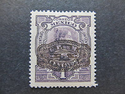 A4P44 Mexico 1916 surch 5c on 1c mh* #10