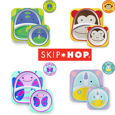 Skip Hop Tablewear Set Plate And Bowl Toddlers Weaning Baby