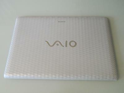 Sony Vaio PCG-71911M VPCEH Laptop White LCD Back Cover 3FHK1LHN030, EAHK1003020