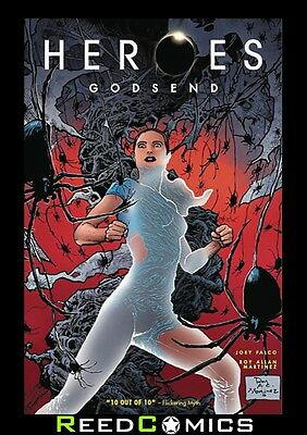 HEROES GODSEND GRAPHIC NOVEL Paperback by Titan Comics Collects 5 Part Series