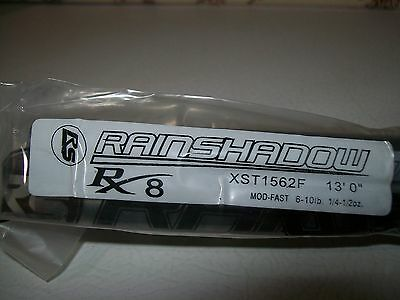 RAINSHADOW RX8 XST1562F-TC salmon/steelhead 13' 6-10 lb. for rod building