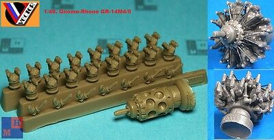 """1/48. Gnome-Rhone GR-14M4/5 engine resin set, by """"Vector"""" 48-031"""