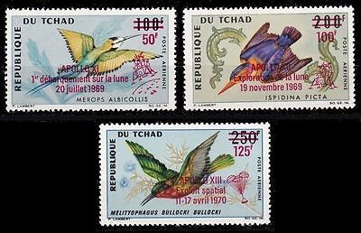 Chad 1969 Space opts on Birds MNH