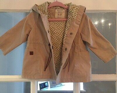 Zara Girls Summer Coat Jacket 9-12 Months