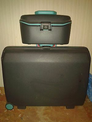 2 Valigie Samsonite Con Rotelle - Come Nuove