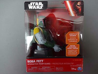 Star Wars Legend Boba Fett Interactive Room Guard Motion Activated Bounty Hunter