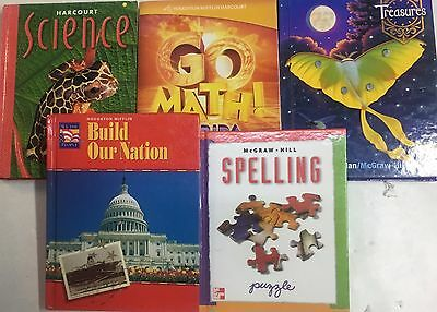 Grade 5 Curriculum 5-Subject Homeschool 5th Student Set Homeschooling