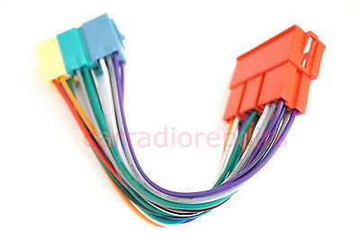 20 Pin Radio MINI ISO Connector Adapter Harness Cable for VW Audi Becker