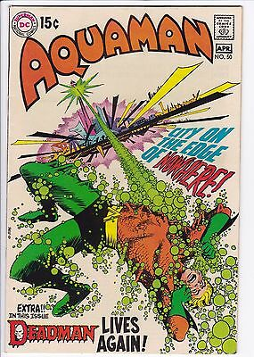 Aquaman (1962 1st Series) #50 VF+ Deadman Nick Cardy Cover F5