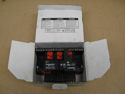 New Schneider Electric RXZE2S114M 10A 250V RXZ Zelio Relay Socket Box of 9
