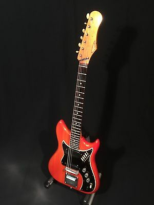 1964 Burns Nu Sonic electric guitar with hard case