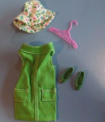 Vintage Barbie Skipper Doll Clothes - Vintage Skipper Right in Style! #1942