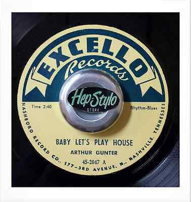 Arthur Gunter 45 Re -Baby Let's Playhouse- Excello Bopper Double Sider Listen!