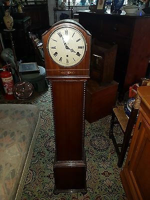 Mahogany Westminster Chimes Granddaughter clock