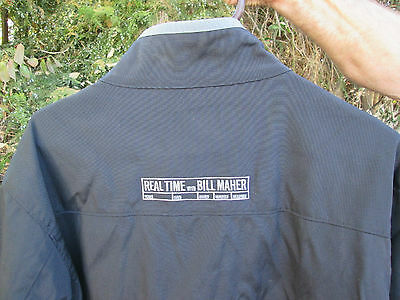 REAL TIME WITH BALL MAHER Political TV Film Crew Jacket
