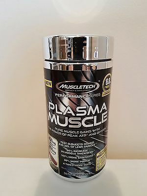 MuscleTech Plasma Muscle 84 Capsules - Build Muscle & Strength - FREE SHIPPING