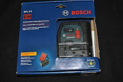 New Sealed Bosch Professional GPL 5S 5 Point Self Leveling Alignment Laser