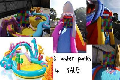 Shark Inflatable Water Park (LIKE NEW) (PICK UP ONLY)