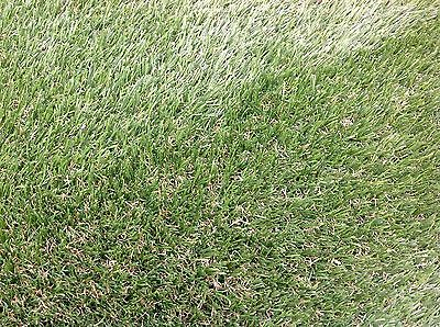 Artificial Grass Luxury 30mm Garden Realistic Natural Turf Fake Lawn [4m x 6.5m]