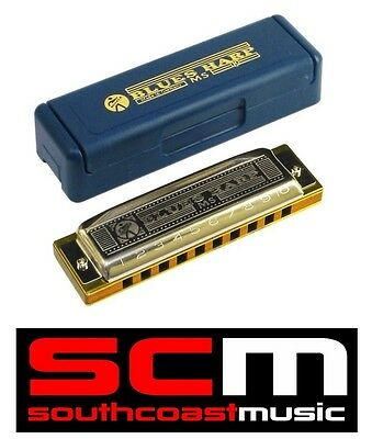 Brand New Hohner Blues Harp D Harmonica 10 Hole 20 Reed 532/20