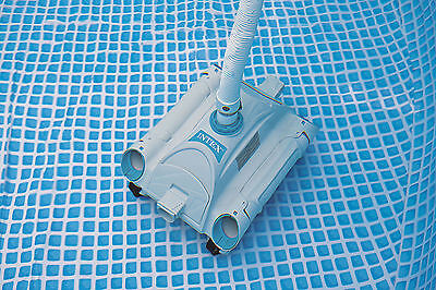 Intex Swimming Pool Above Ground Cleaner Automatic Vacuum Auto Cleaning Floor