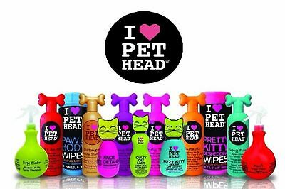 Pet Head Dog Puppy Shampoo Conditioner Sprays Grooming Selection High Quality