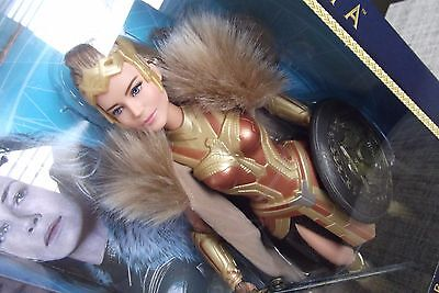 DC Wonder Woman Articulated Body Barbie Queen Hippolyta Doll