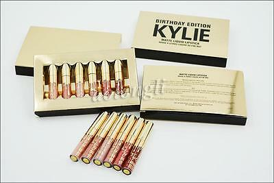 Kylie Jenner Birthday Edition Lip Kit Matte Liquid Lipsticks Lipstick Lip Kit
