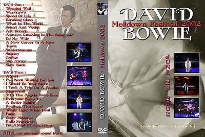 David Bowie. 2002. London. Meltdown Festival. 2 Dvd.
